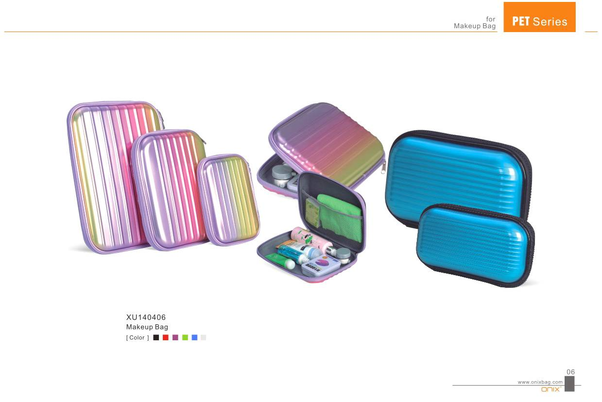PET Cosmetic Case, Make-up Case