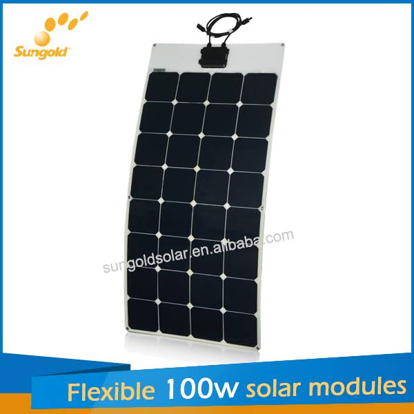 2014 Hot sell semi Flexible solar panels from China factory directly