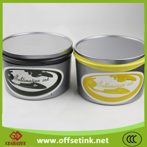New Printing Process Materials Dye Sublimation Ink for Offset Printer