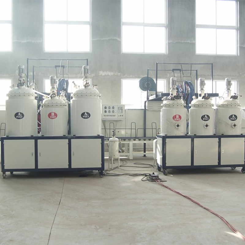 2 low pressure pouring machine with AC drive BH-09D