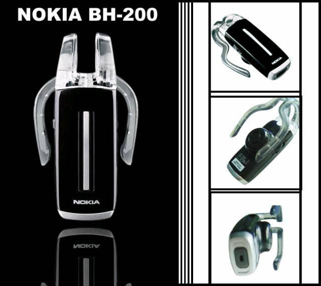 NOKIA BH-200 Bluetooth Headset for 3120 3250 N80 GF7
