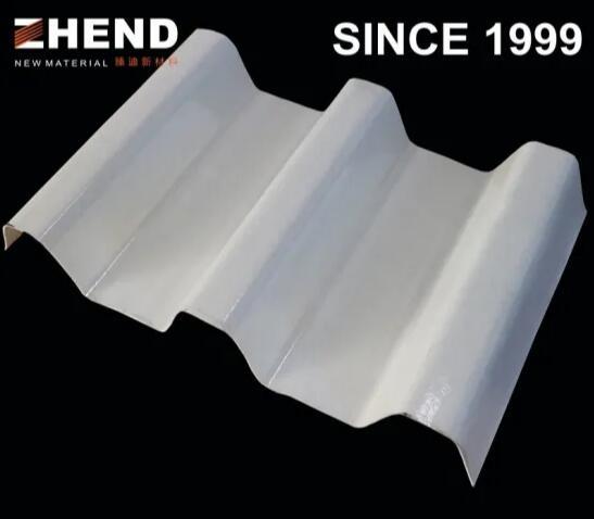 Anti-corrosion anti-UV fiberglass panel roof trim edge
