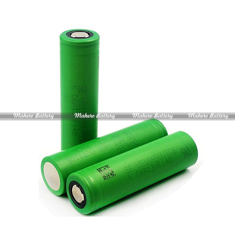 Mahero 30A high drain rechageable li-ion battery 18650 vtc4 vtc5 vtc6 battery for e-cig