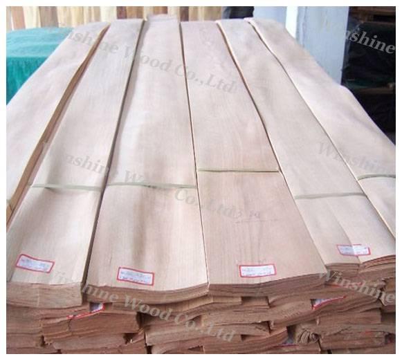 Chinese cherry wood veneer