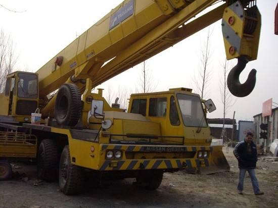 Used Truck Crane TADANO 80TON TG-800E