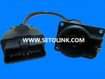 30 PIN DIESEL TRUCK CONNECTOR TO IVECO CABLE