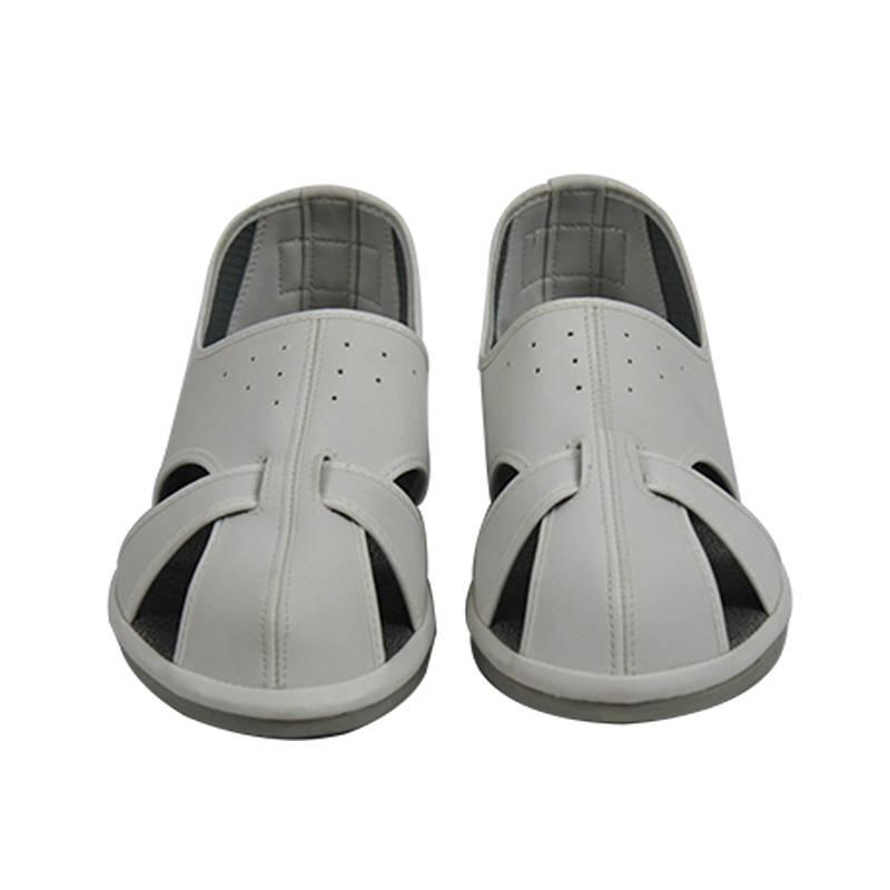Hign Quality Import PU Comfotable Anti Static Shoes Grey