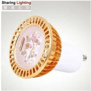 IN STOCK 3W LED bulb light, gu10 high power led spot light, energy saving lamp