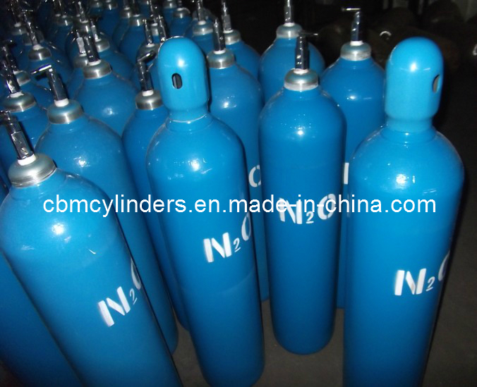 Medical Nitrous Oxide Cylinders G 25L W/ Pin Index Valves Cga910
