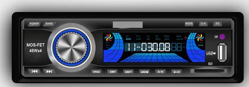 Universal Single Din Car Radio MP3 Player USB/SD/ SM Card Head Unit