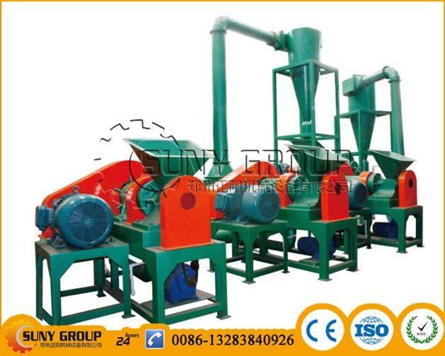 Energy Saving Micro rubber Grinding Unit