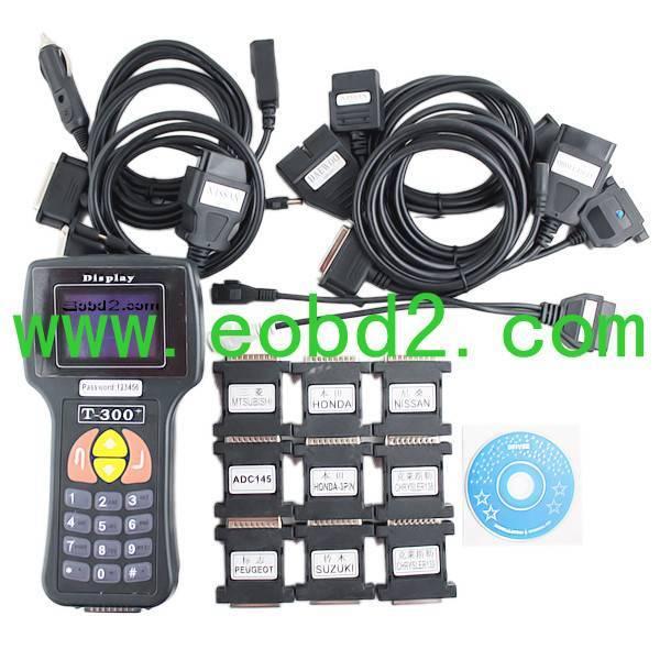 T300 key programmer English 9.99V Newest Version