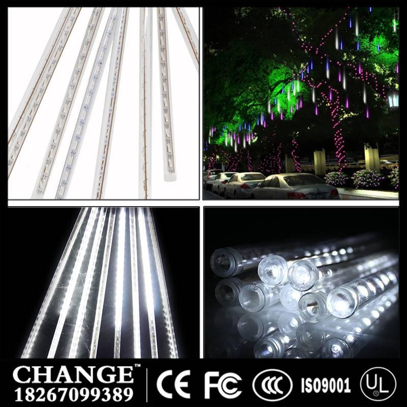 LED lights flashing lights digital lamp meteor shower decorative tree lamp pendant