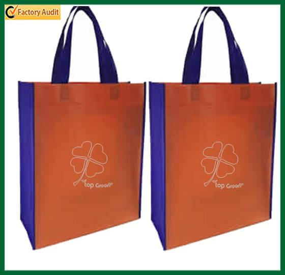 Wholesale Printed PP Shopping Tote Non Woven Bag