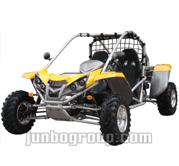 Go Kart 500cc 4WD Shaft Drive with CVT and Reverse Gear