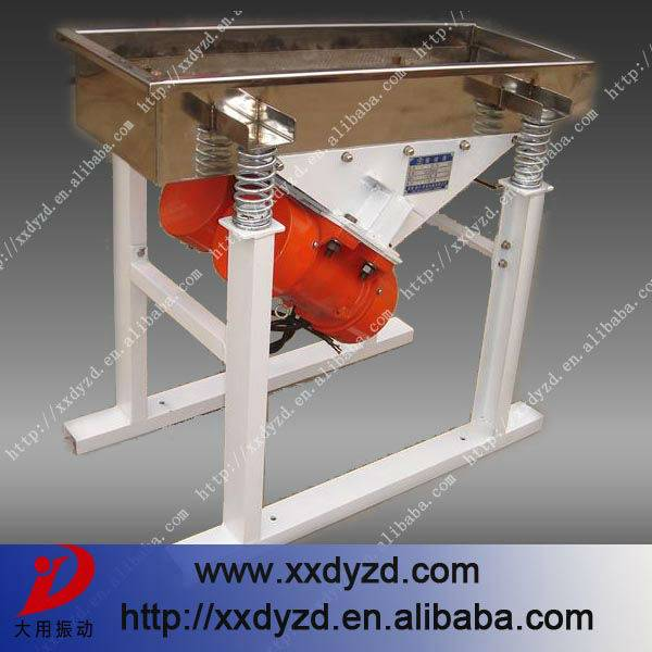 superior quality rectilinear vibrating screen for powder,granule,particles