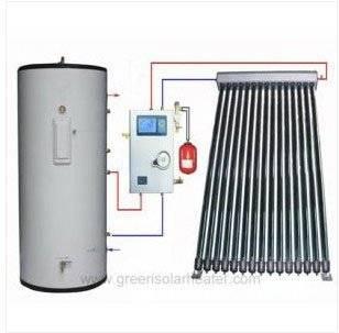 Newly type split pressurized solar water heater with enamel tank