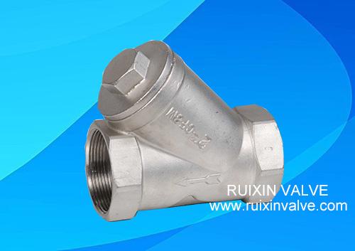 Y Strainer Filter NPT,BSPT PN16 PN40 800WOG stainless steel