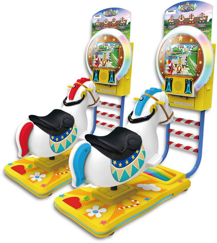 Whirlwind horse game machine arcade amusement machines coin operated game machine ,children ride mac