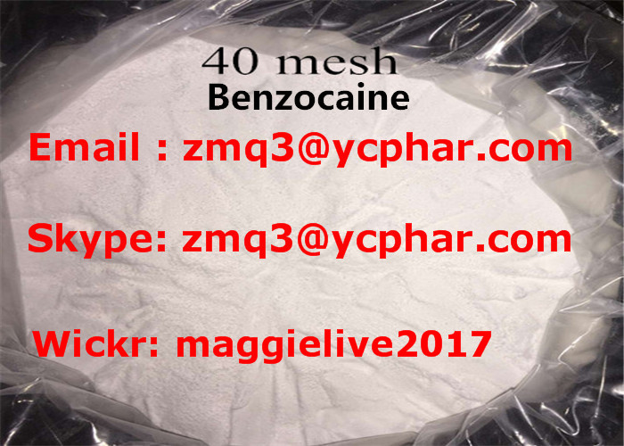 Local Anesthetic Drugs Benzocaine CAS 94-09-7 for Relieving Pain