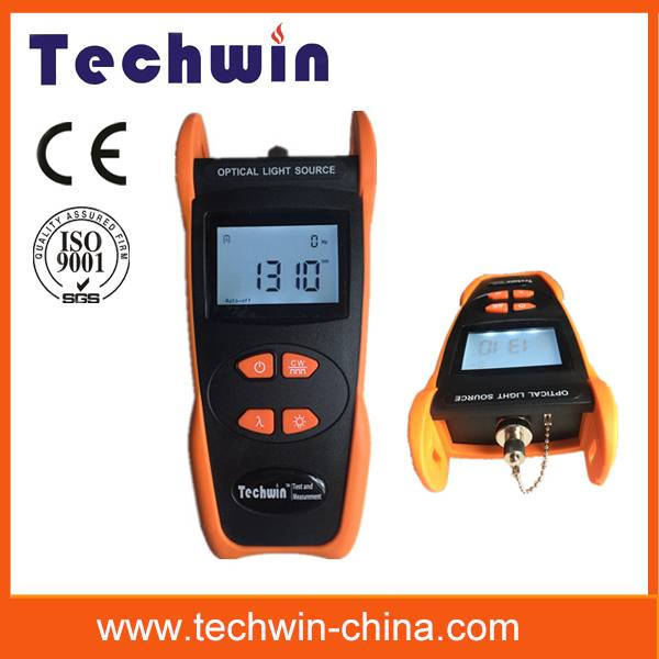 Techwin optical laser source TW3109E simple and cost-effecient tester