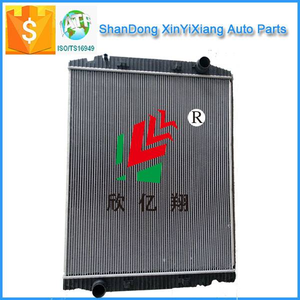 Aluminium truck radiator for IVECO China manufacture
