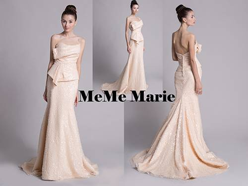 Outstanding Ivory strapless sweetheart mermaid dresses for boat evening parties two piece evening dr
