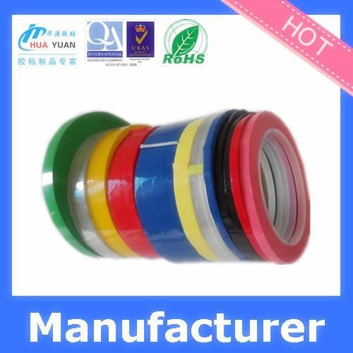 China clear mylar tape/copper mylar tape/PET Mylar Tape