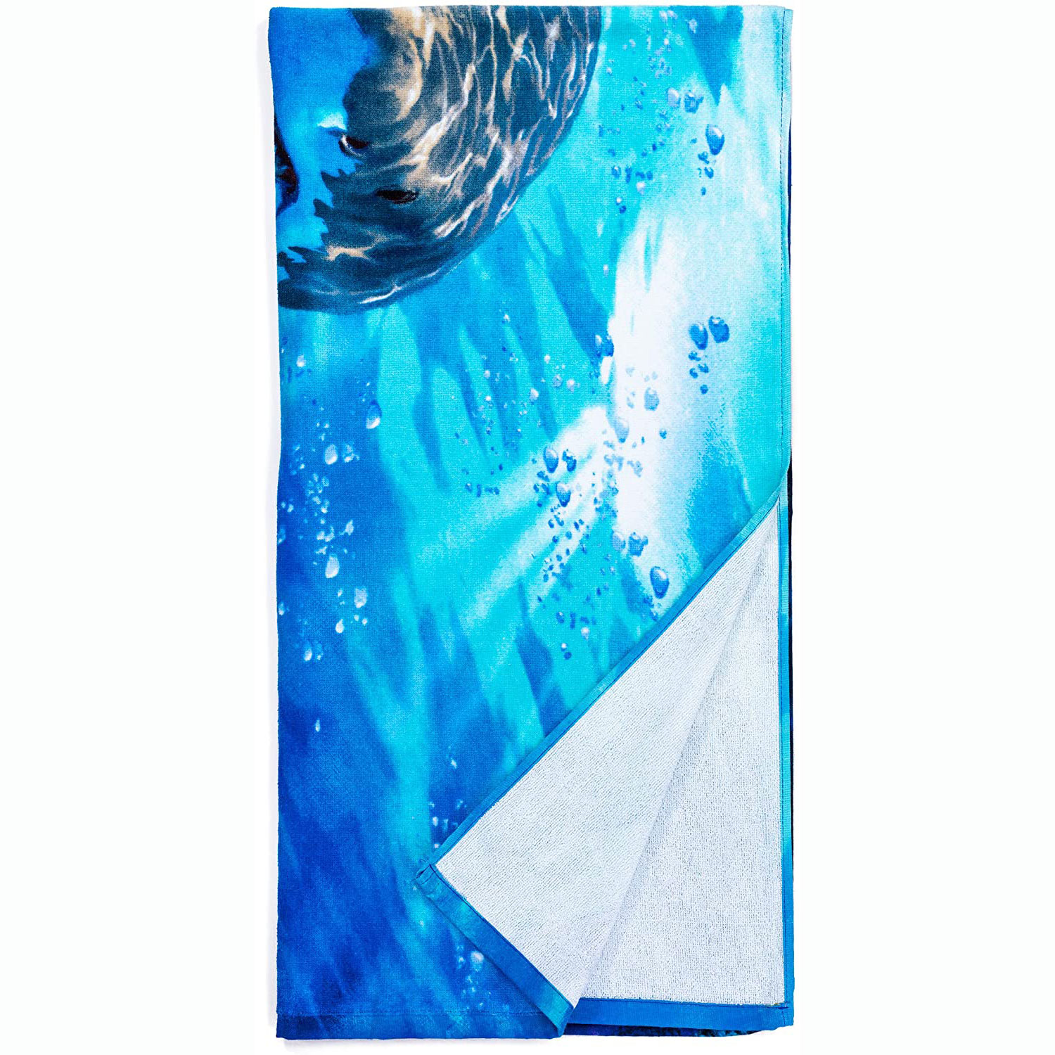 New 100% polyester digit printing custom beach towel promotional with your logo