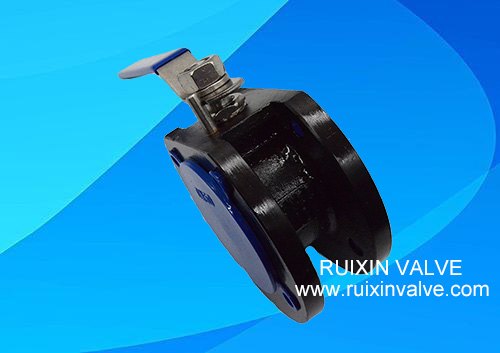 Carbon Steel China Manufacturer Wafer Ball Valve Italian type