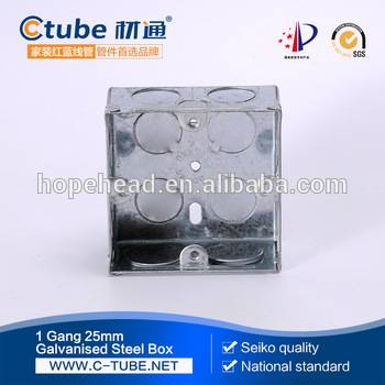Concealed G1 modular switch box