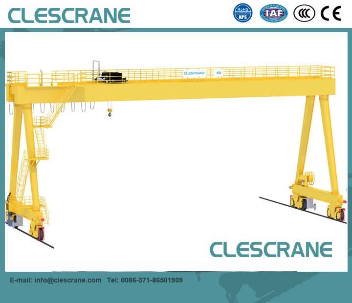 CHG Series high quality Top quality single/double girder electric hoist gantry crane 2-63t $1000-$15