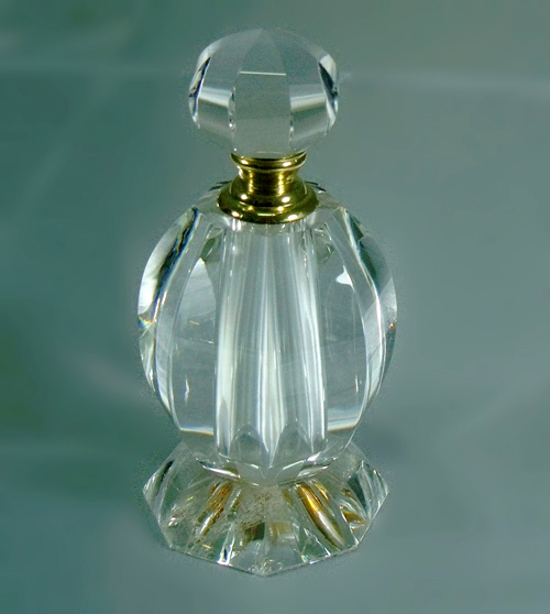 Crystal perfume bottle, crystal car ornaments, crystal perfume seat
