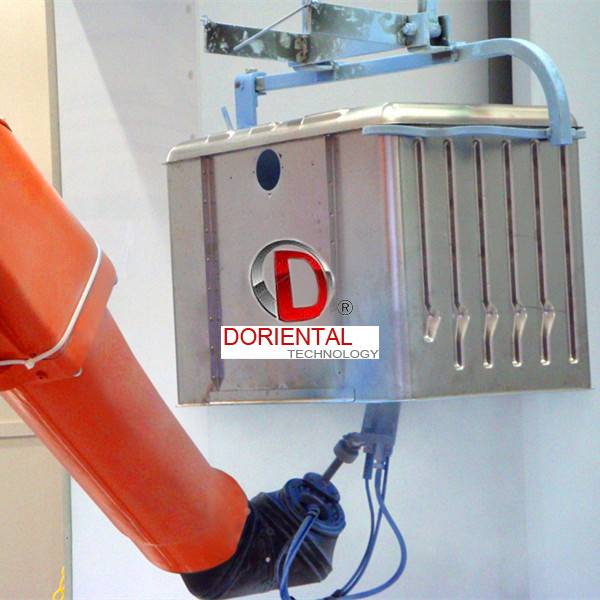 D Oriental DOT-SA3C1 Automatic Robot Coating line  with ABB IRB5400 robot arm