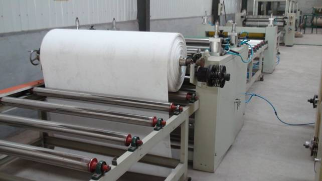 gypsum ceiling board lamination machine