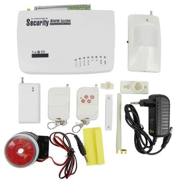 GSM Security Alarm System Wireless