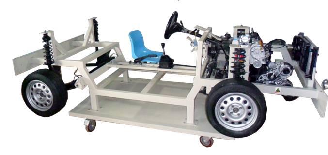 Whole Car Power Transmission System Operation Dissection Training Platform