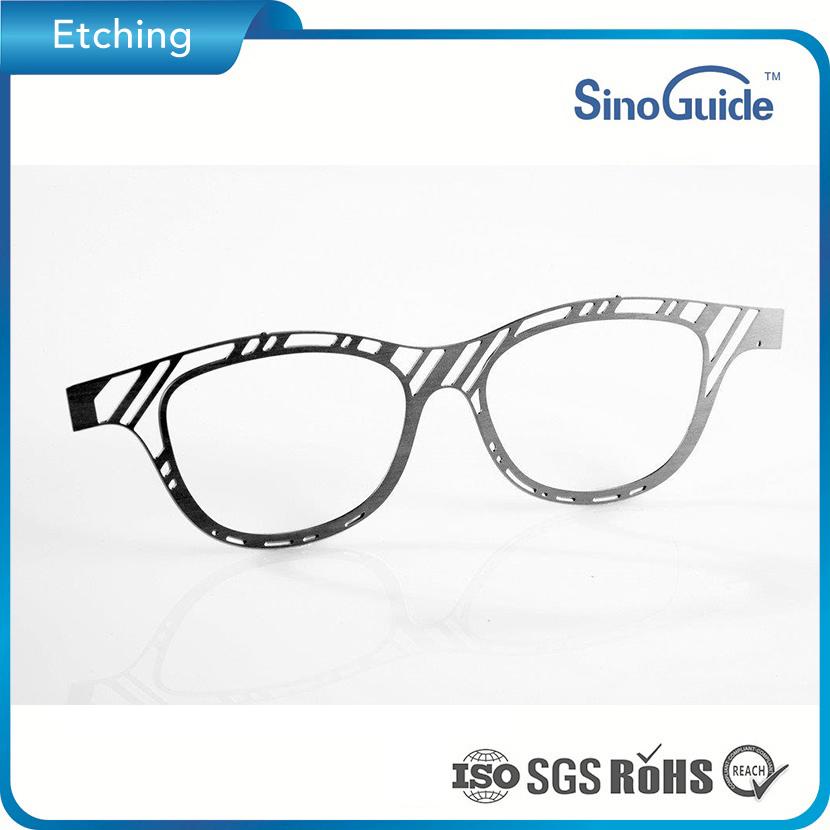 Customized Photo Chemical Etched Eyewear Eyeglasses Frame