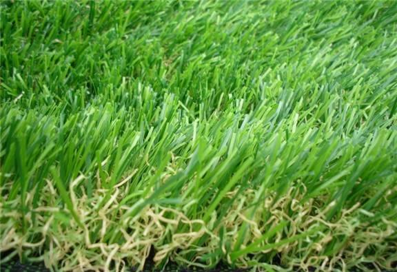 double color Artificial grass for garden