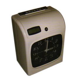 time recorder electronic time attendance stamping card punching machine time keeper dubai - Time Card Machine