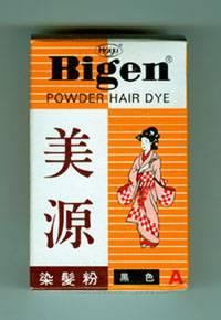 Bigen powder hair dye
