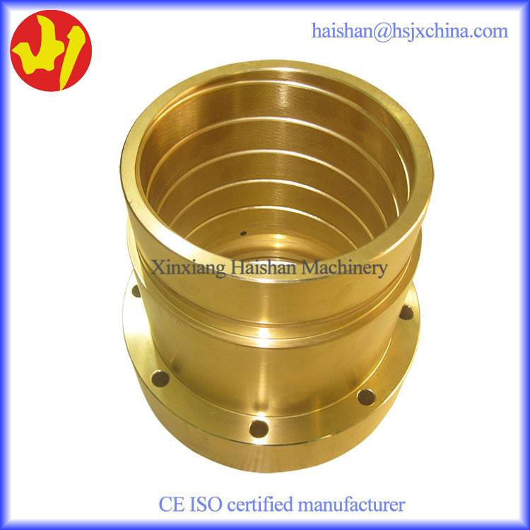 Brass bushing with high hardness short handle time