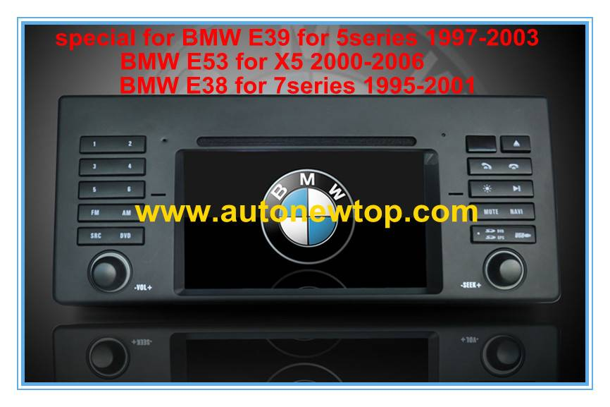 car DVD player Special for BMW with GPS digital TV