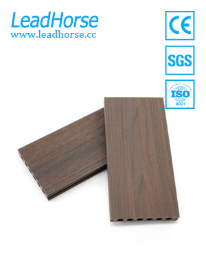 Anti-slip WPC outdoor swimming pool flooring decking