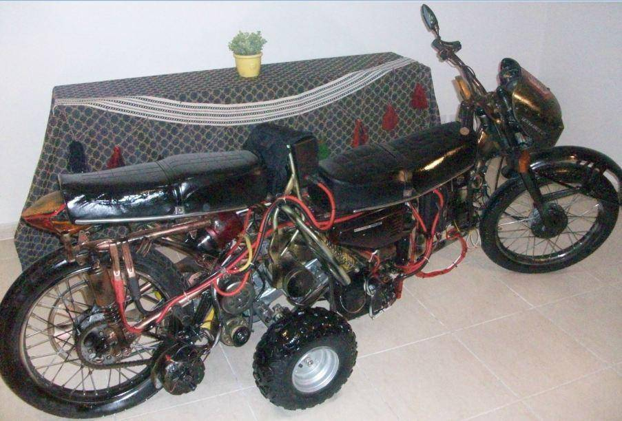 Khorasan 6600 A6T Dynamo Magneto Power Generator / Electric Motorcycle