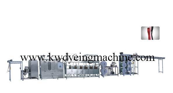 KW-811-400 Satin ribbons label ribbons continuous dyeing machines
