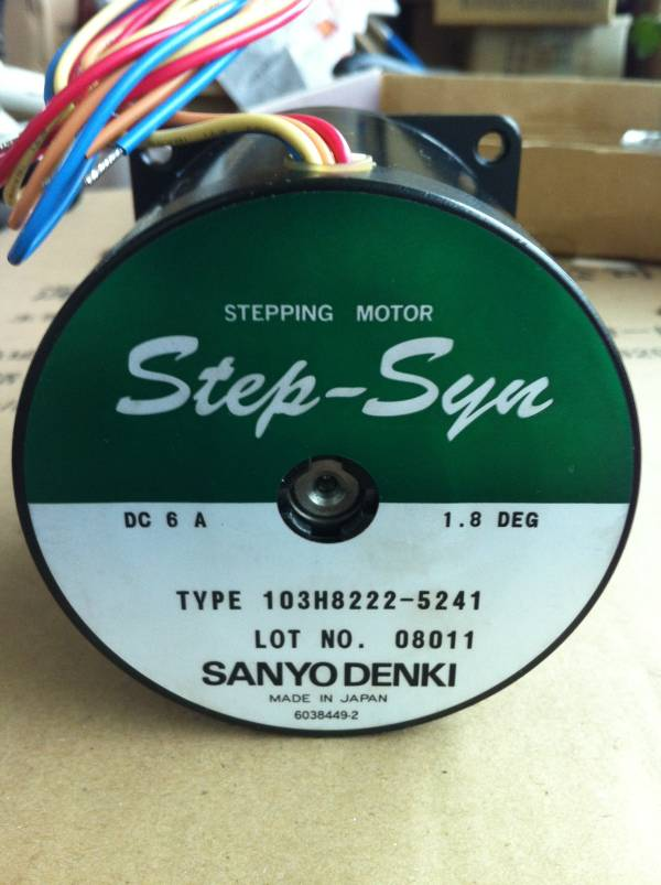 Sanyo stepping motor 103H8222-5241