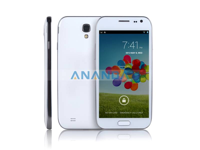 5inch MTK6589 Quad Core Android 4.2 WCDMA/GSM 3G Dual SIM Mobile Phone I9500