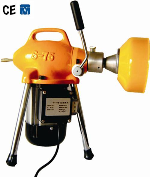 high pressure 4'' sewer drain cleaning machine S75
