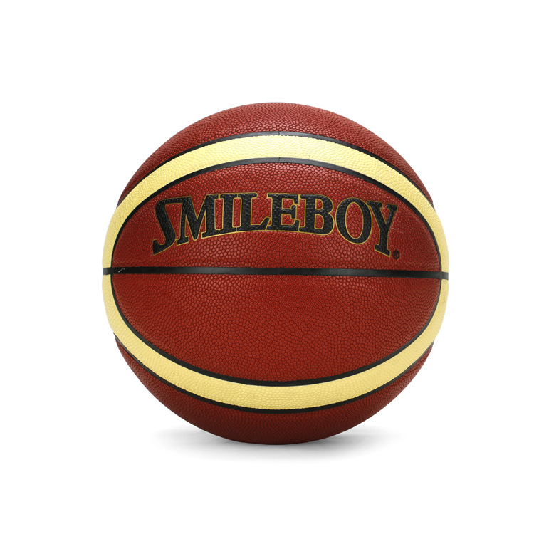 Top quality custom leather match basketball ball for sale